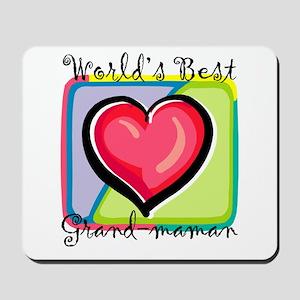 WB Grandma [French] Mousepad